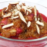 Coppette di quinoa alle fragole - Biolcalenda di Maggio2019