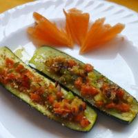 Zucchine ripiene - Biolcalenda di Maggio2019