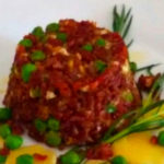 Sformatino di riso rosso ai piselli - Biolcalenda Giugno2019
