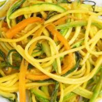 Spaghetti di mais alle verdure - Biolcalenda di Giugno2019