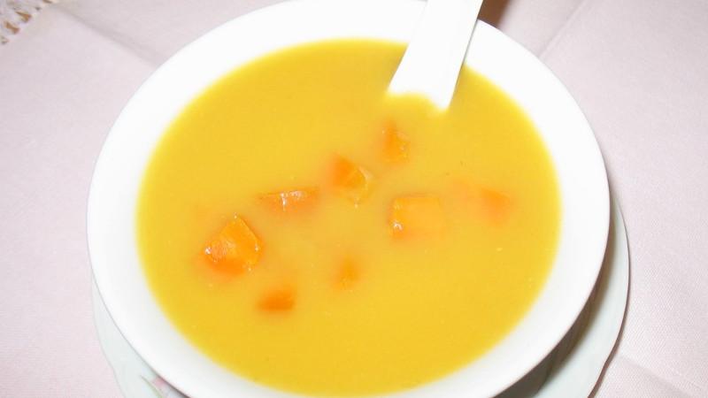 Consommè di zucca e carote - Biolcalenda di Settembre2019