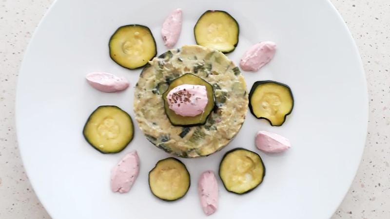 Tartare di zucchine ed avocado - Biolcalenda di Settembre2019
