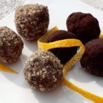 Praline di patate dolci al cacao e nocciole - Biolcalenda Novembre2019