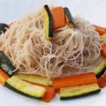 Vermicelli di riso alle verdure - Biolcalenda Novembre2019