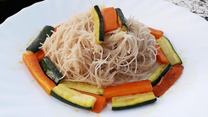 Vermicelli di riso alle verdure - Biolcalenda di Novembre2019