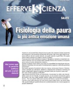Fisiologia della paura - Effervescienza n.126