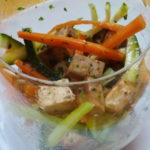 Verdure julienne e tofu - Biolcalenda aprile2020