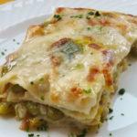 Lasagne con piselli e asparagi - Biolcalenda maggio2020