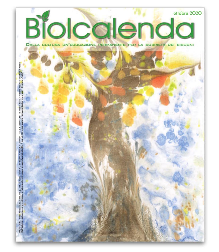Biolcalenda di ottobre 2020 - mensile dell'associazione La Biolca