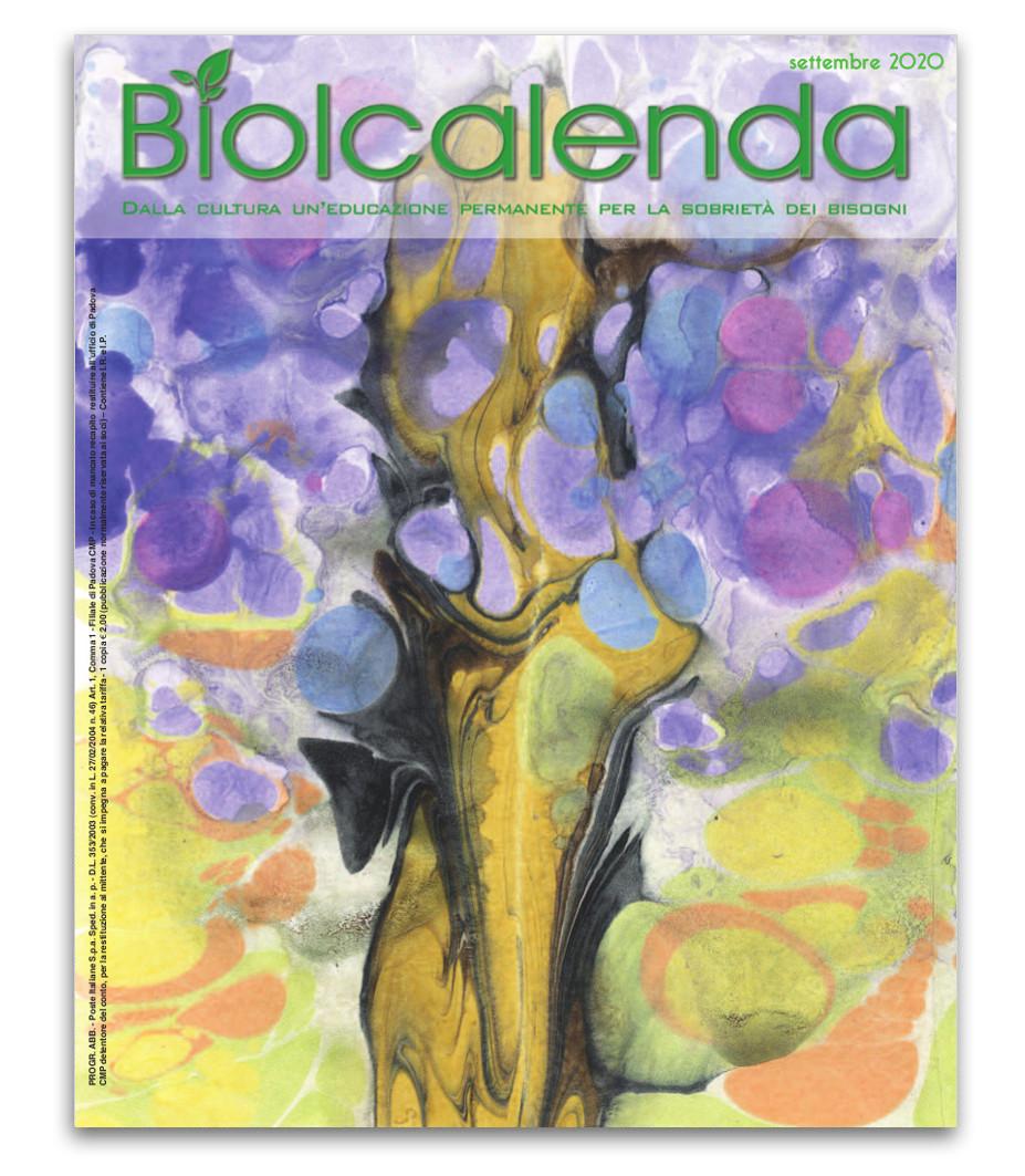 Biolcalenda di Settembre 2020 - mensile dell'associazione La Biolca