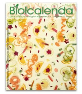 Biolcalenda di febbraio 2021 - mensile dell'associazione La Biolca. In copertina carnevale di Elena Bassi