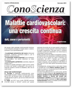 Conoscienza n°1 Malattie cardiovascolari: una crescita continua - Biolcalenda gennaio 2021