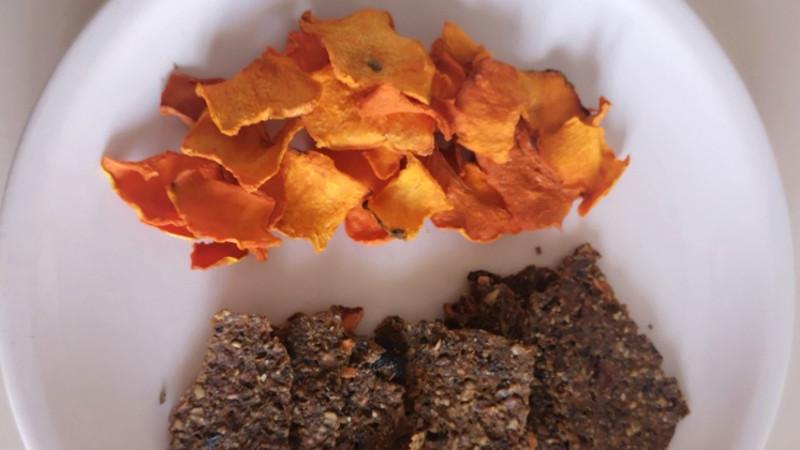Batata essiccata seconda versione crackers - Biolcalenda di giugno 2021