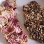 Chips di rapa prima versione crackers - Biolcalenda giugno 2021