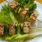 Spiedini di tofu - Biolcalenda luglio-agosto 2021