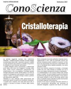 Cristalloterapia - Conoscenza di settembre 2021