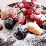Dolce al cioccolato e frutta - Biolcalenda settembre 2021